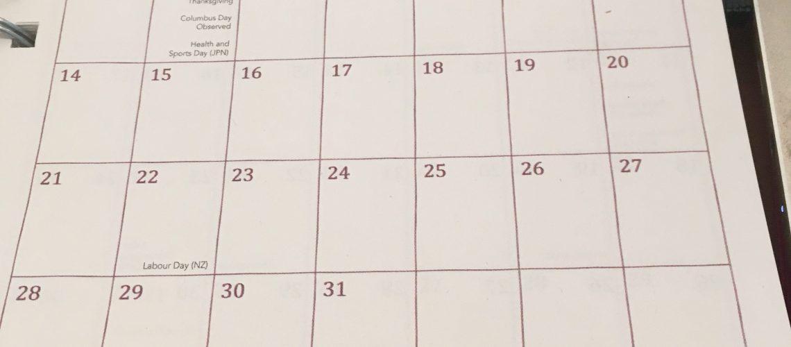 תיכנון חודשי